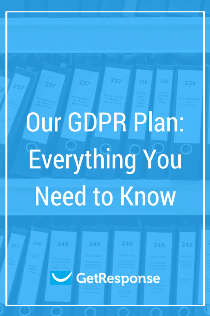 Our GDPR Plan