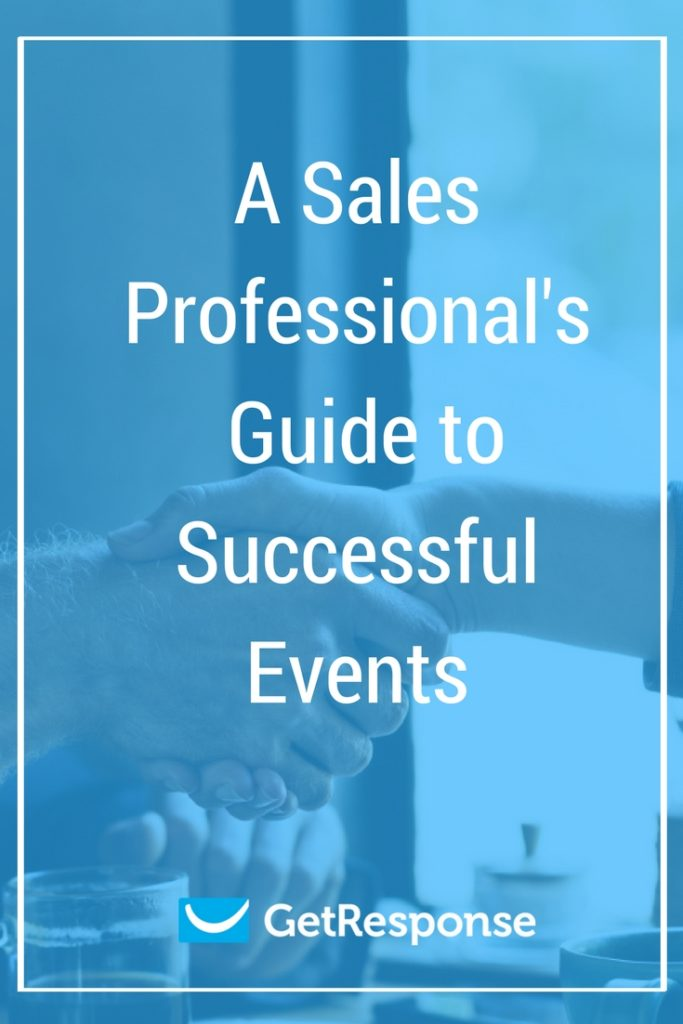 A sales professional's guide to successful events