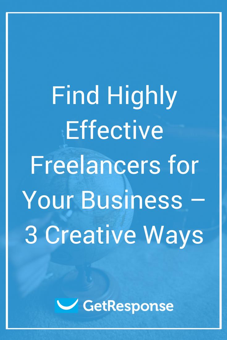 Find effective freelancers