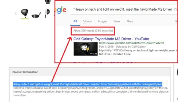 Description visibility in Google