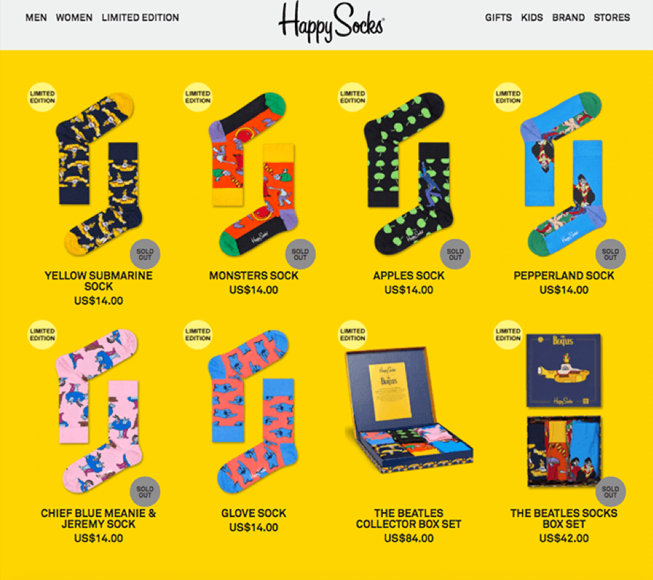 Ecommerce Communication Happy Socks 3