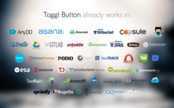 Productivity apps – Toggl integration