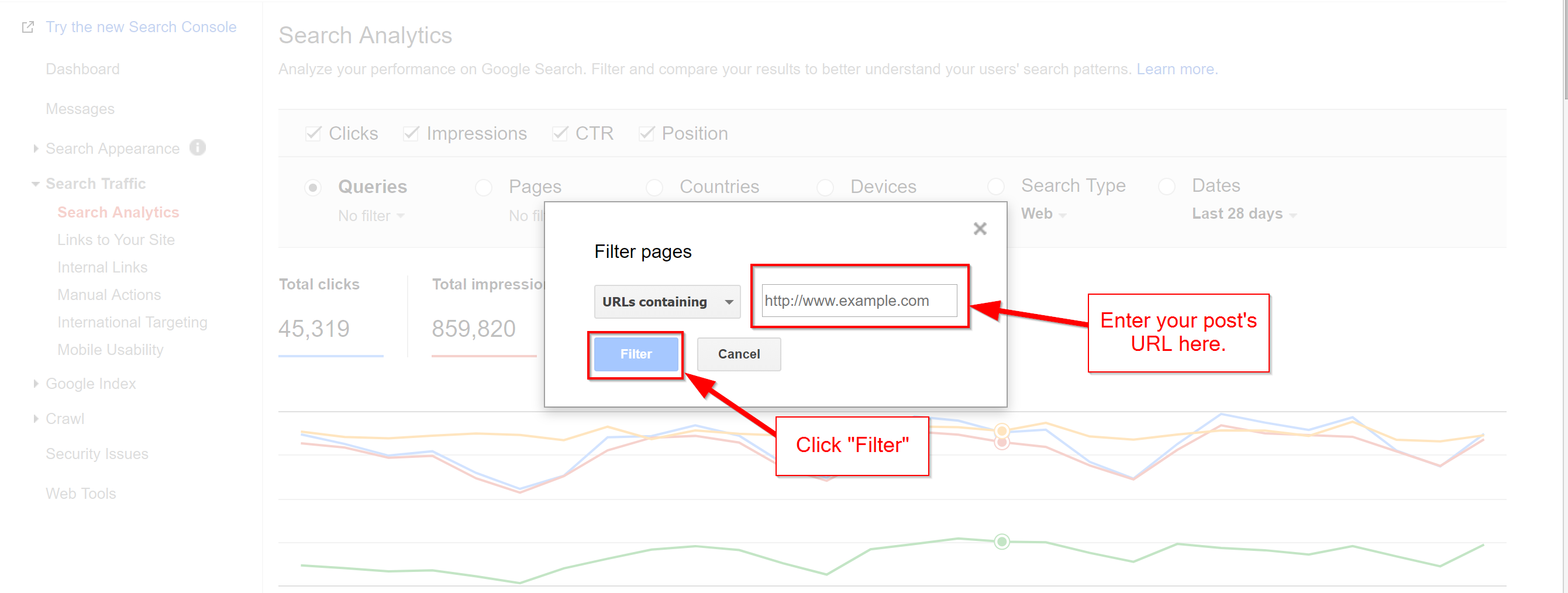 Search Console 2 Ranking for more keywords, seo traffic