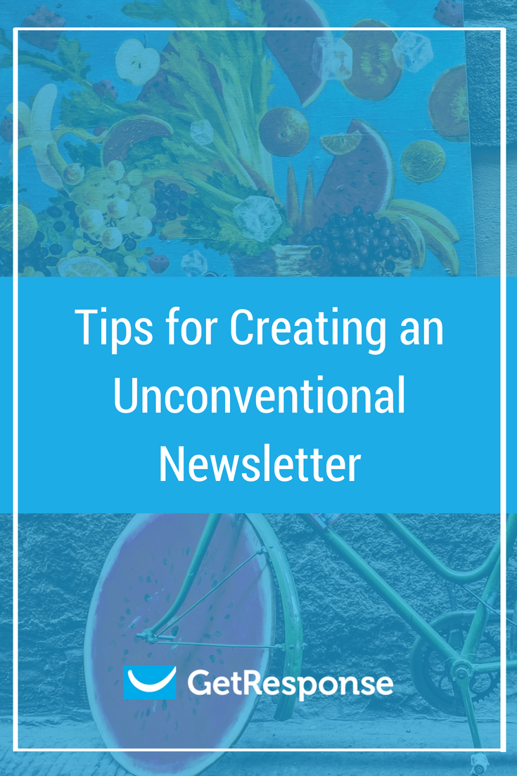 unconventional newsletters