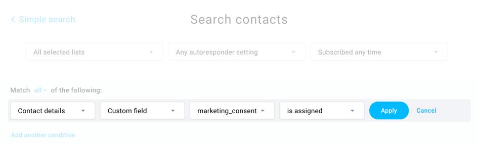 marketing consent