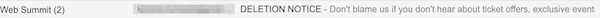 a threatening gdpr subject line