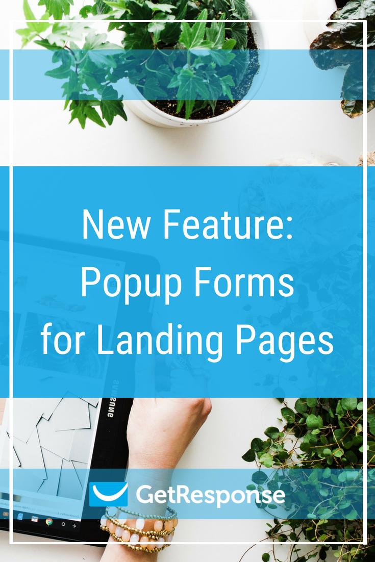 New Feature: Popup Forms for Landing Pages
