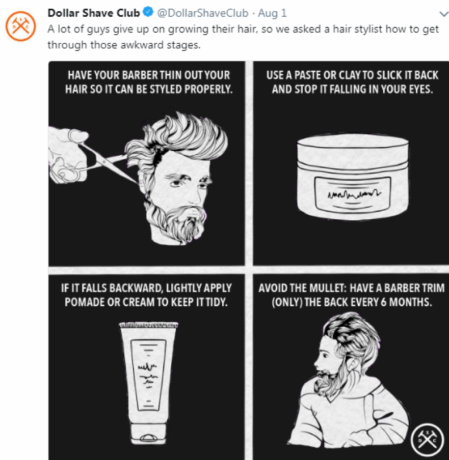 dollar shave club ecommerce strategy viral helpful post