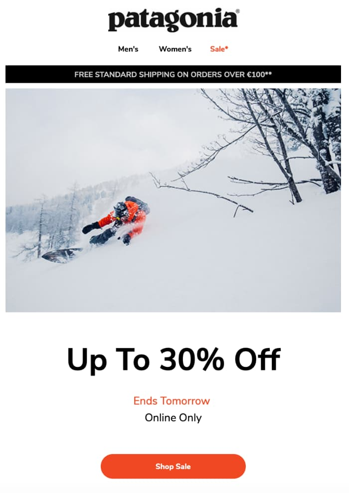 Ecommerce offer expiration reminder