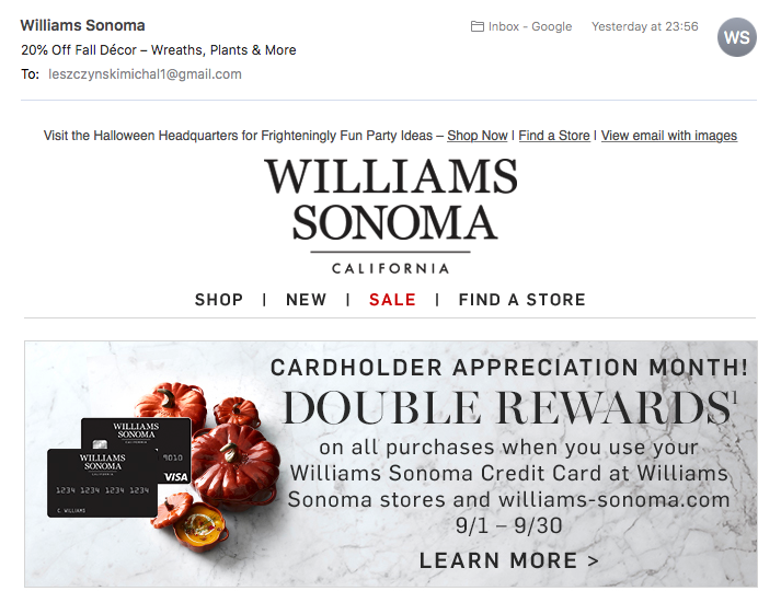 halloween-email-preheader-williams-sonoma
