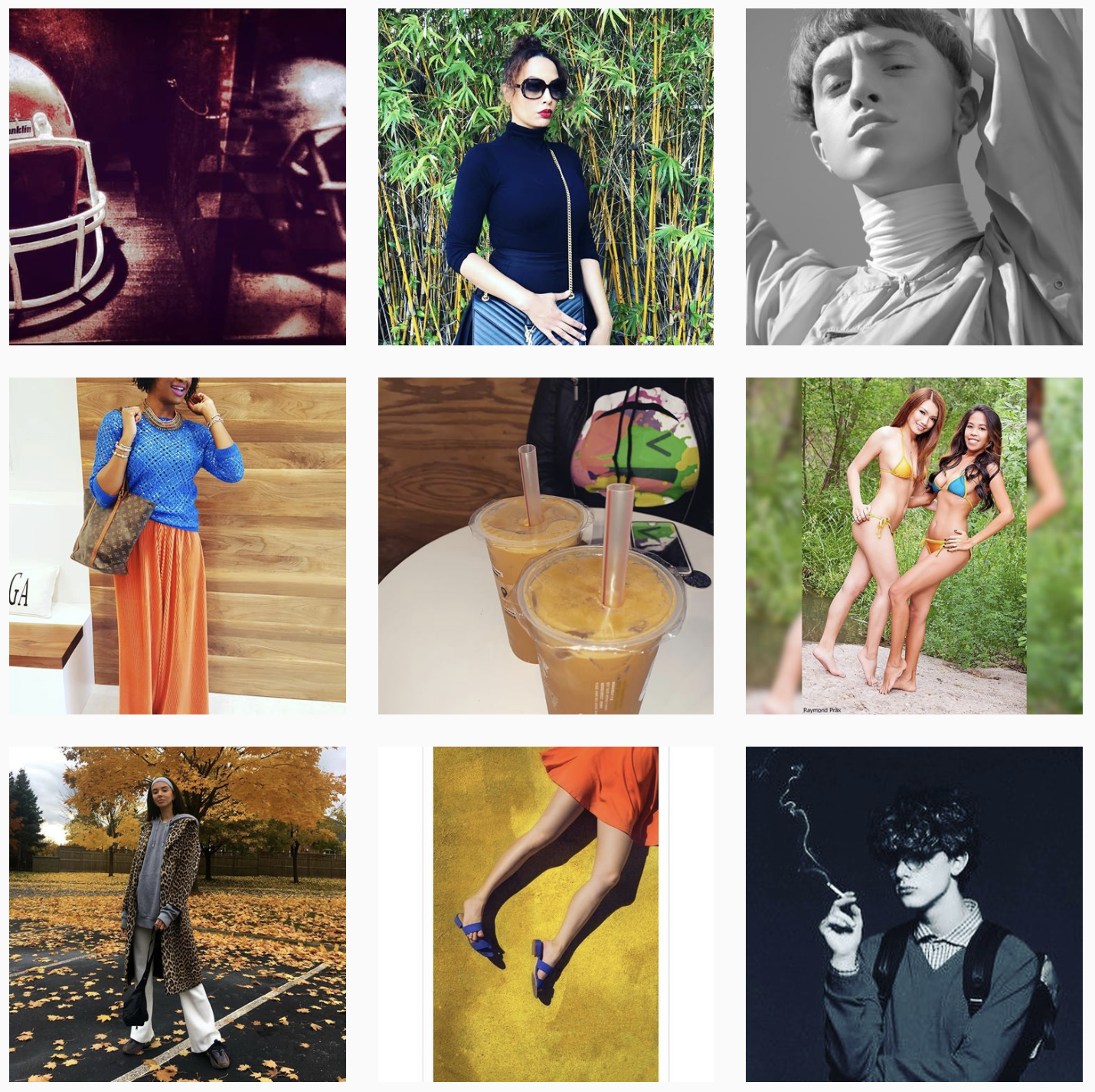 American Apparel 1 - Instagram collection