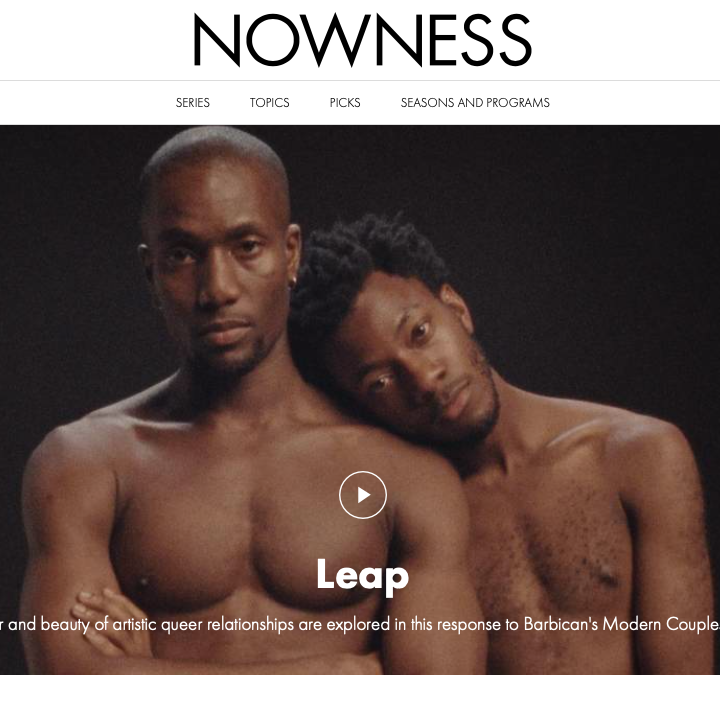 Nowness landing page