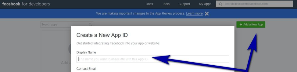 create a new app id to add a new tab to your Facebook page