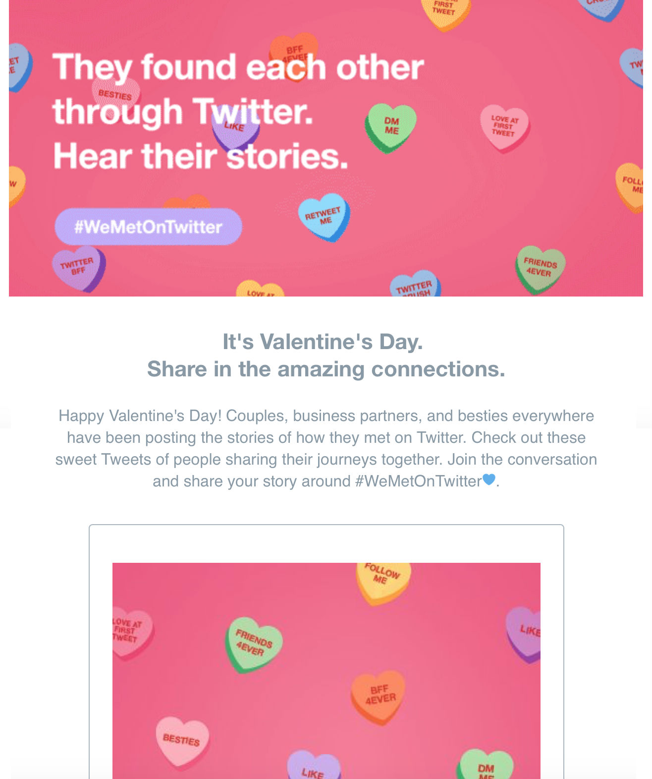 twitter valentines day email.
