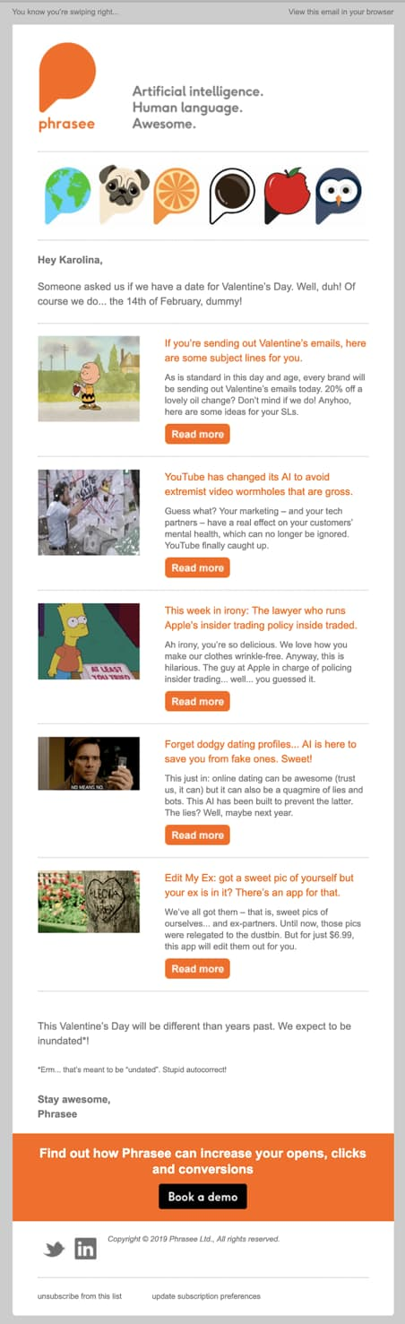 30+ Best Email Campaigns and Why We Loved Them - GetResponse Blog