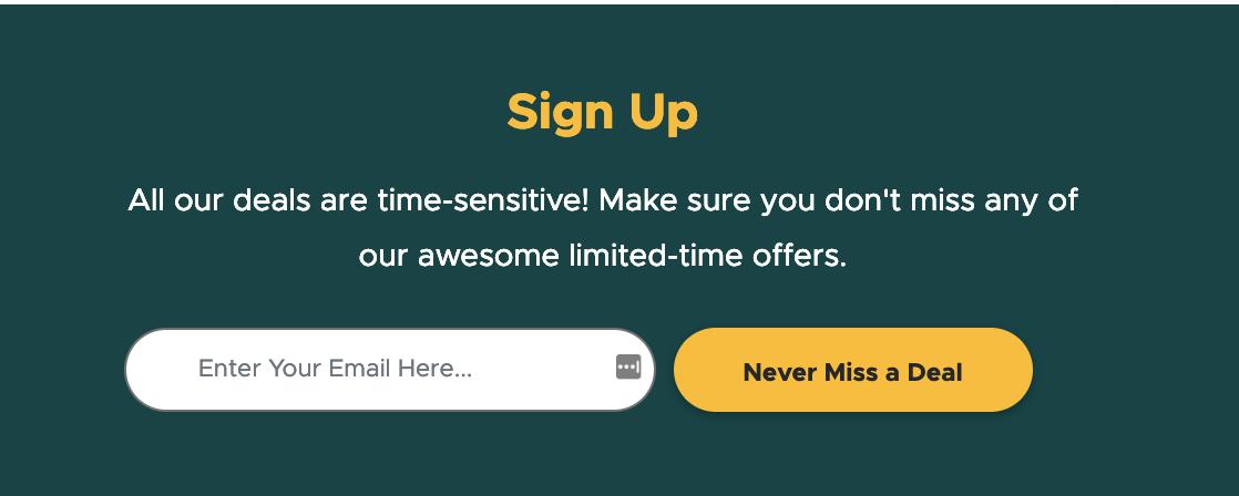 deals appsumo newsletter.