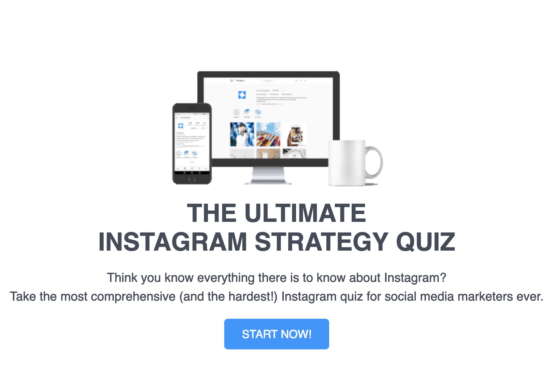 quiz instagram strategy iconosquare.