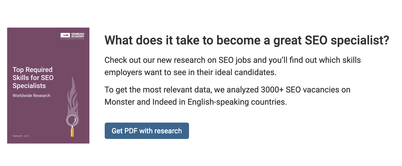 semrush research study pdf lead magnet.