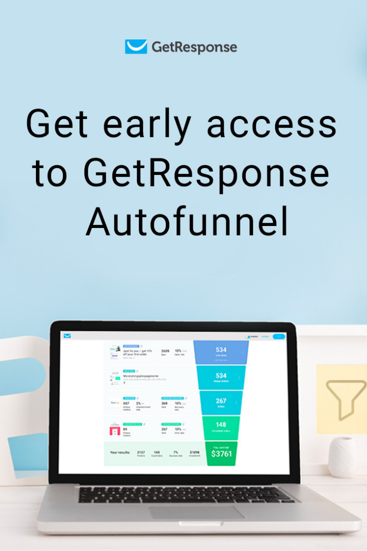 get early access to getresponse autofunnel.