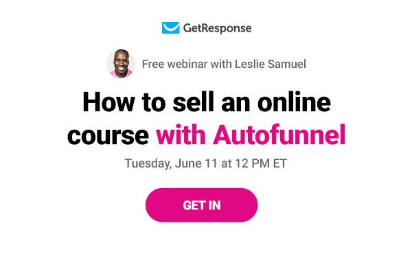 free autofunnel webinar.