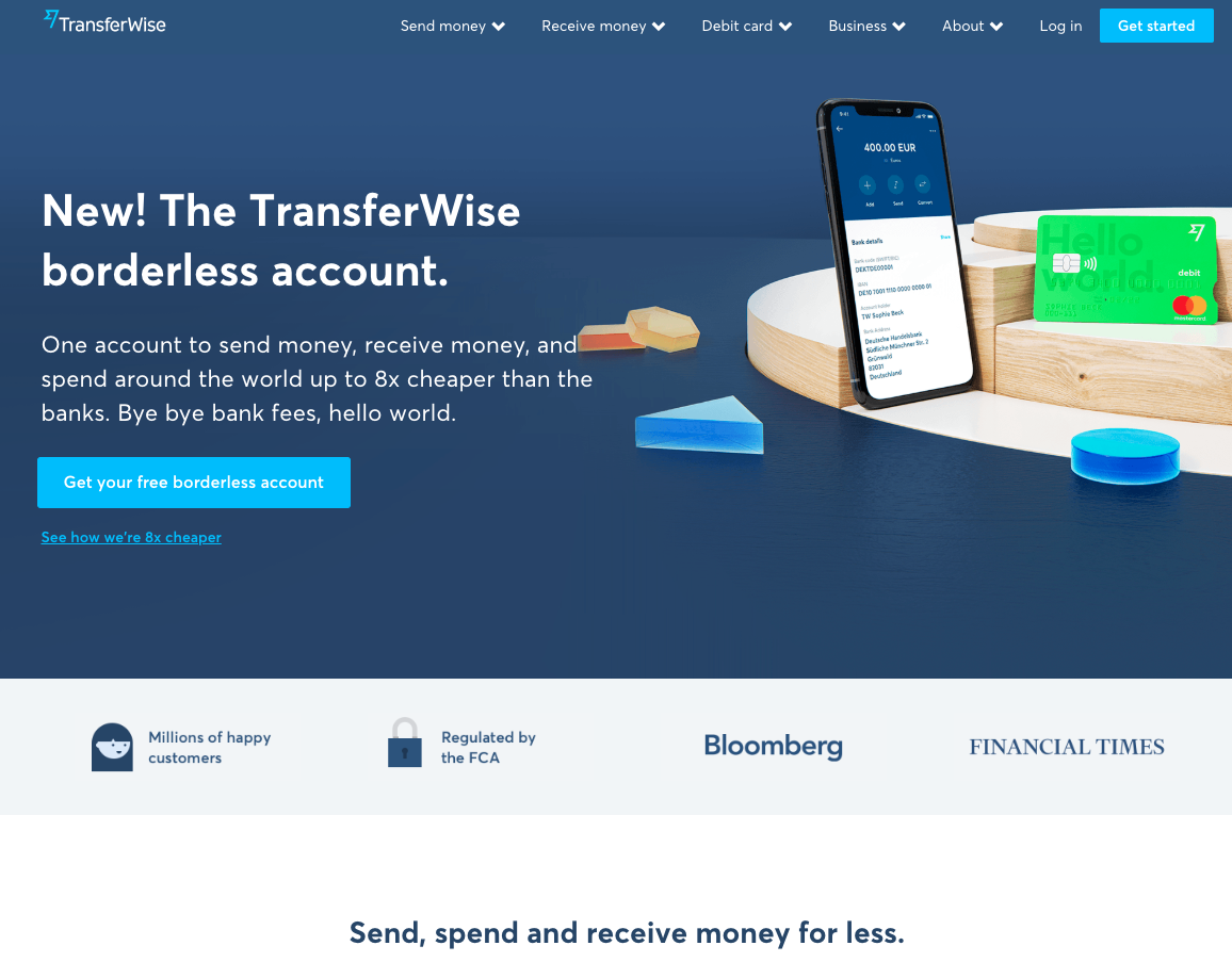 transferwise authority elements.