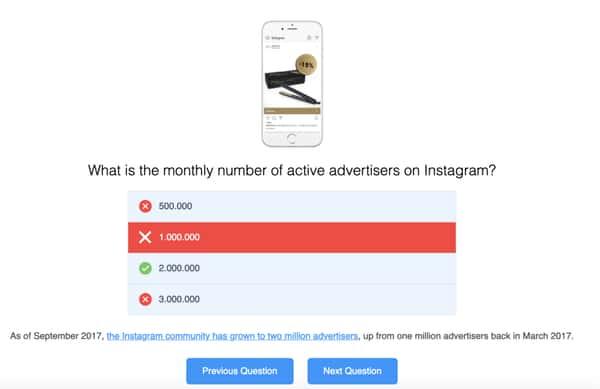 Quiz instagram strategy iconosquare blog contąent.