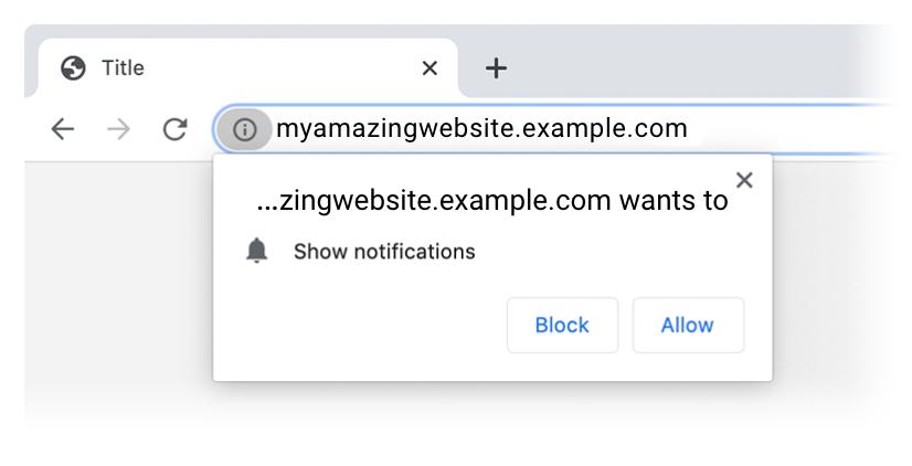 пример нативного запроса на web push уведомления в GetResponse