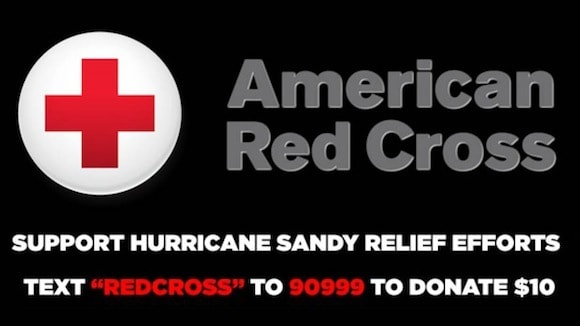 American Red Cross SMS campaign.