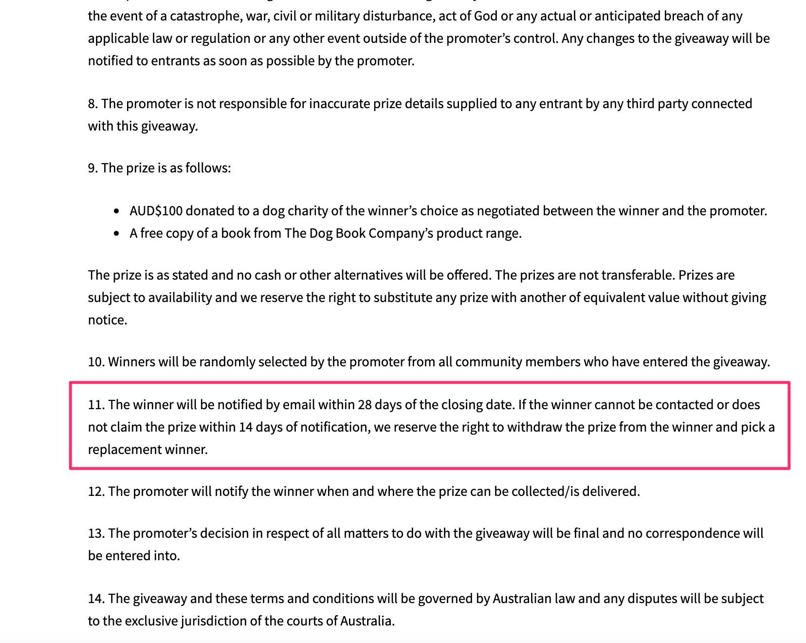 Пример призыва к действию из книги Content Verve «7 универсальных принципов оптимизации конверсии»