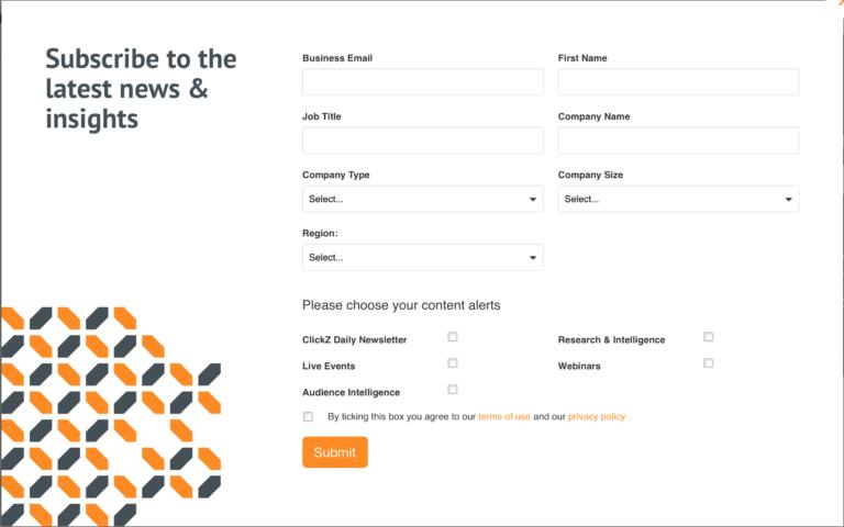 Форма подписки для сектора Б2Б как один из способов увеличить базу подписчиков