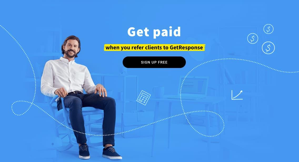 GetResponse Affiliate Programs - homepage.