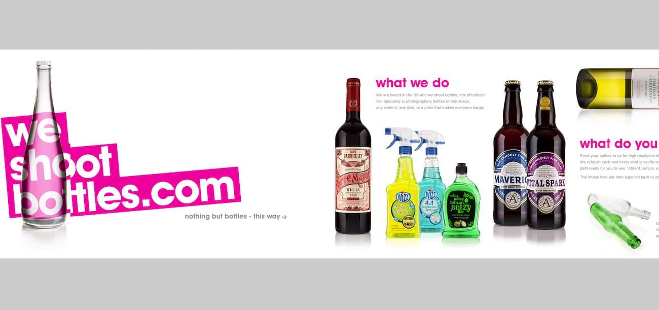 Company website inspiration using parallax.
