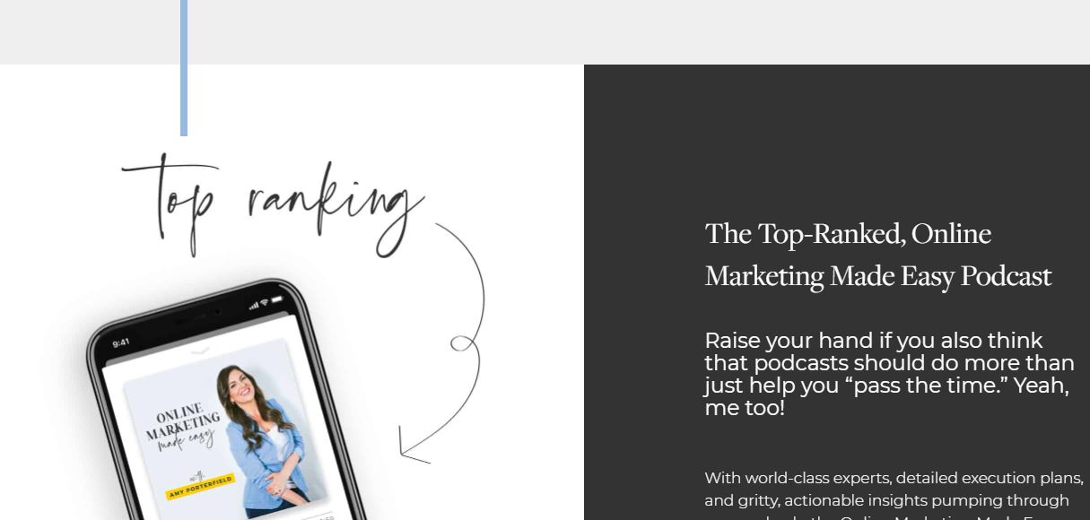 Screenshot of a great personal website.