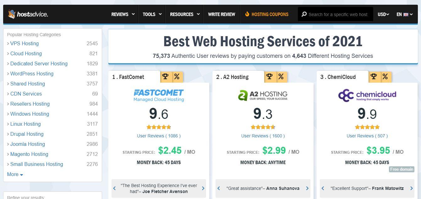 """Ejemplo de comparación de sitios web: consejos para anfitriones. """"Class ="""" wp-image-23200 """"width ="""" 663 """"height ="""" 313"""