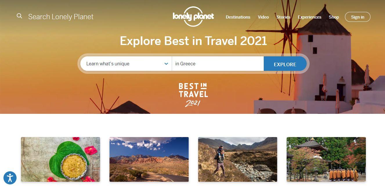 """Sitio web de viajes Lonely Planet. """"Class ="""" wp-image-23171 """"width ="""" 663 """"height ="""" 321"""