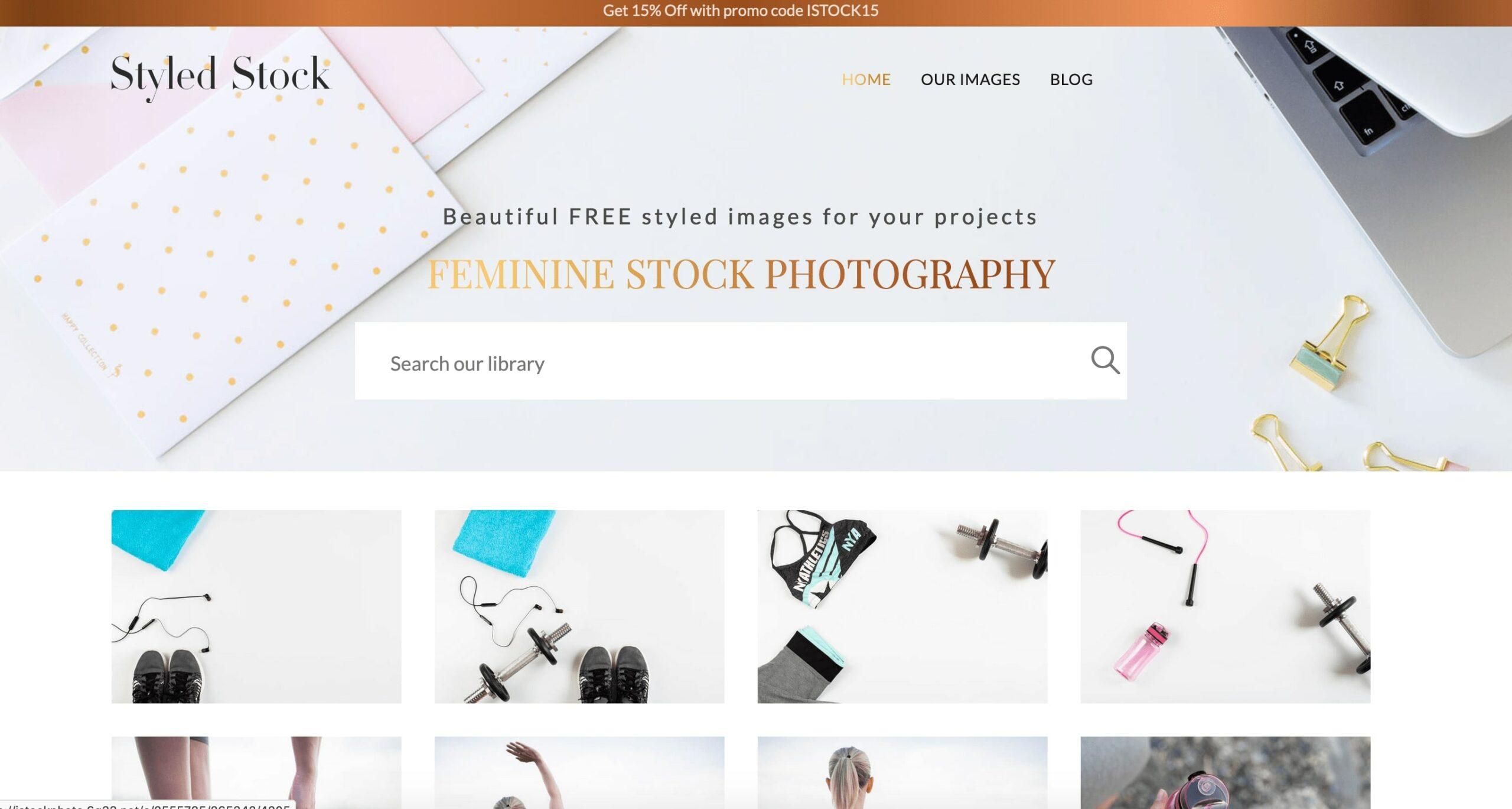 Главная страница Styledstock