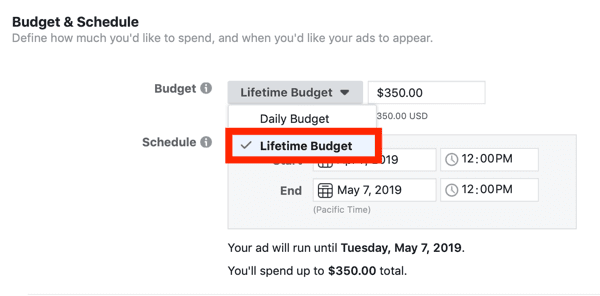 Setting up budget and schedule.