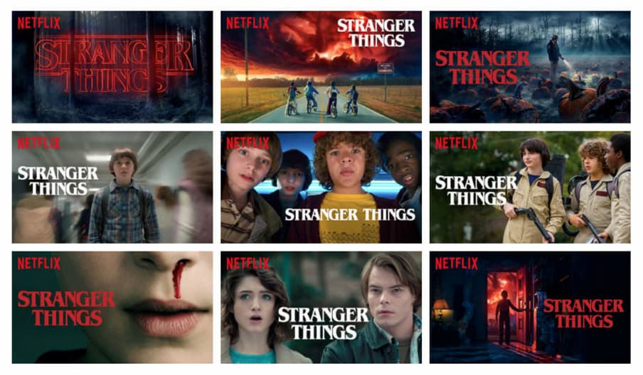 How Netflix personalizes their movie covers.