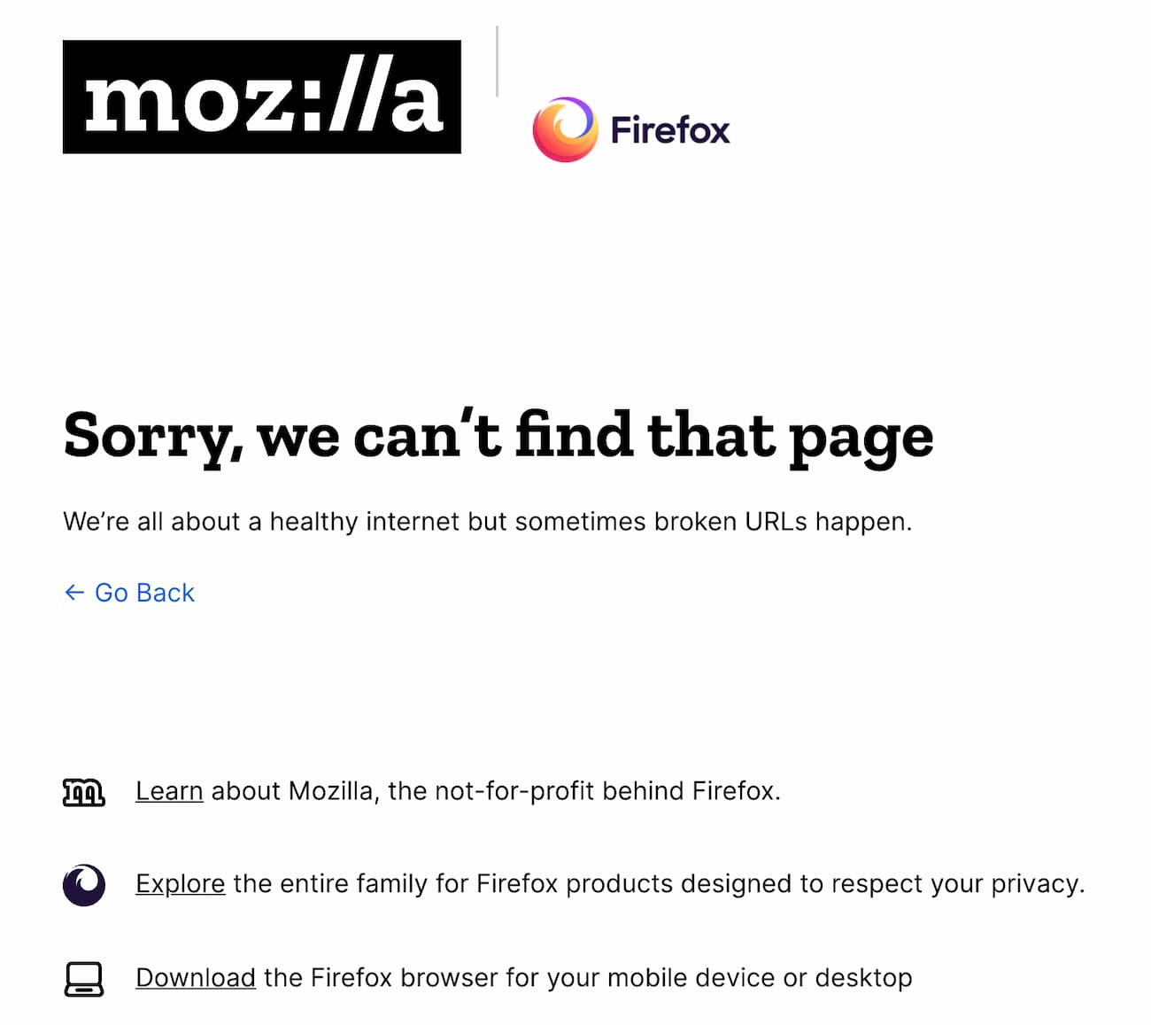 404 error page displaying information that the page you've searched for couldn't be found on the server.