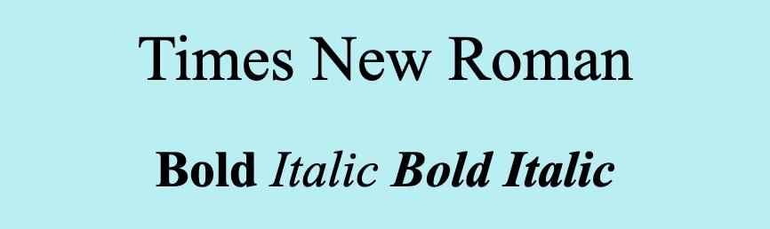 Times New Roman font.