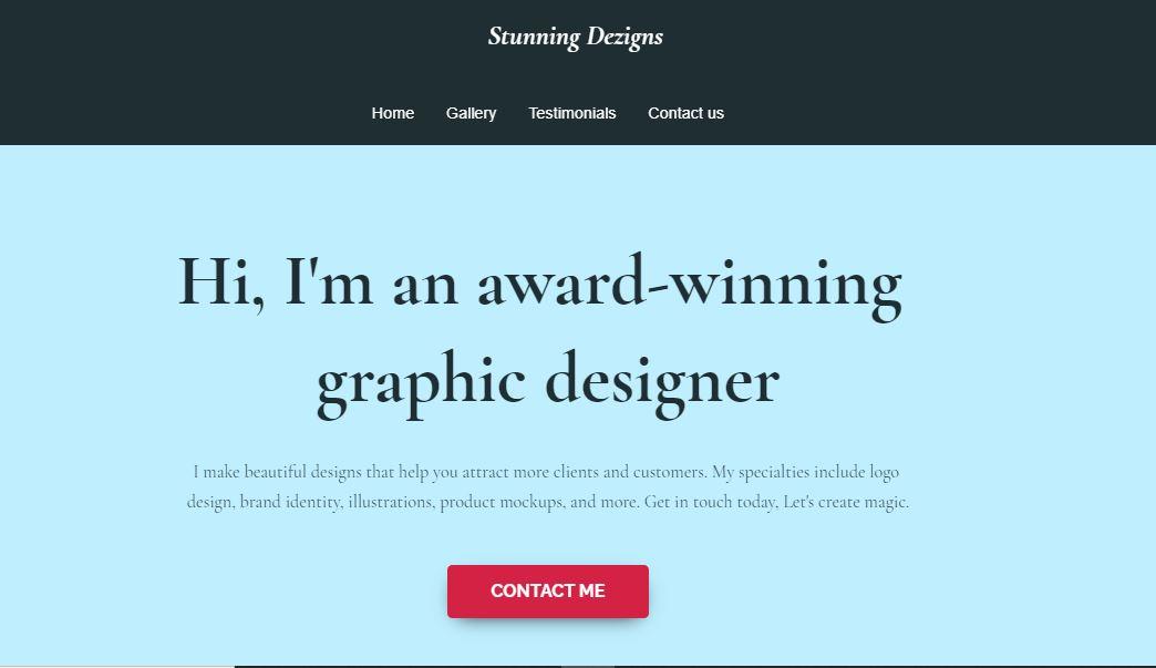 Customizing your website.