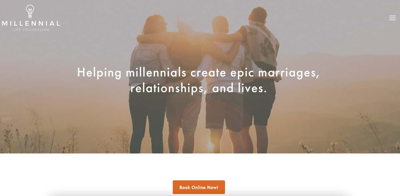 Millenial Life Counselling website.