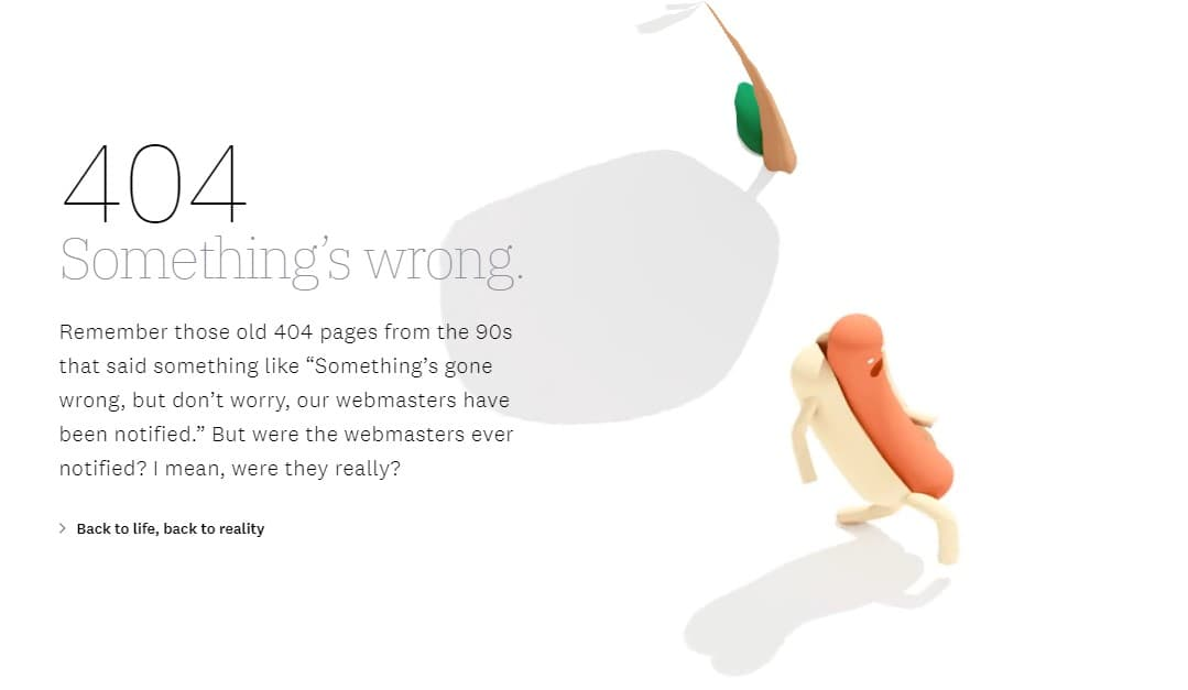 Great 404-page example from Ueno.