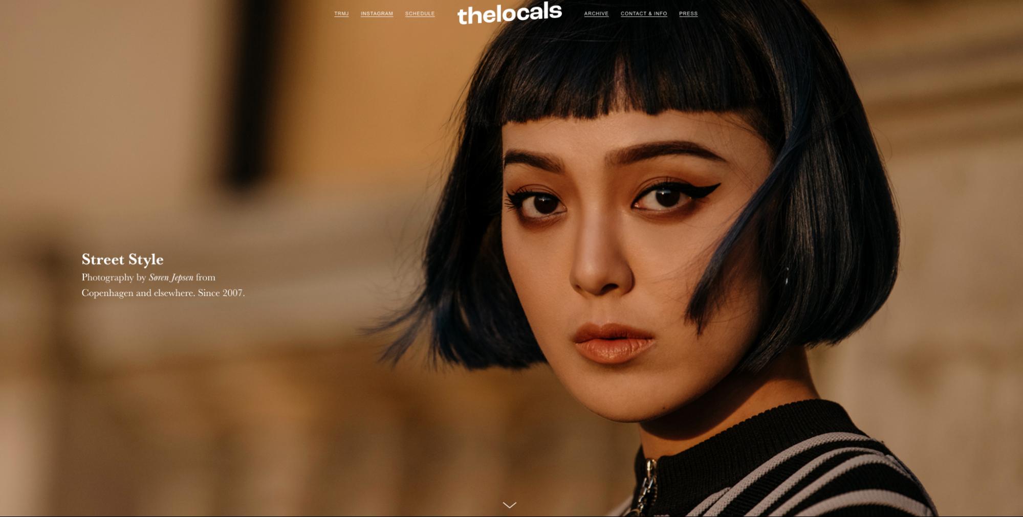 Photography portfolio website.