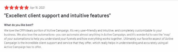 Klaviyo alternative review - ActiveCampaign.
