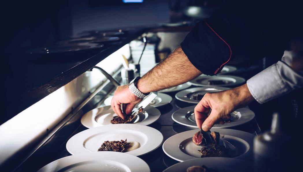 Сервировка блюда