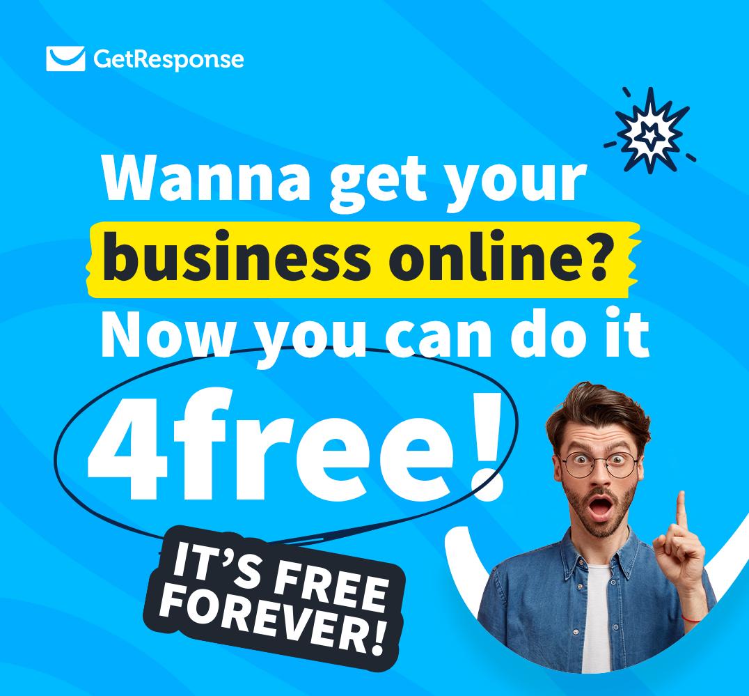 Бесплатный тариф Free от GetResponse
