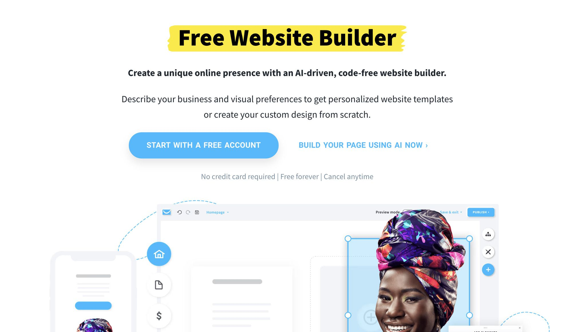 GetResponse Free Website Builder