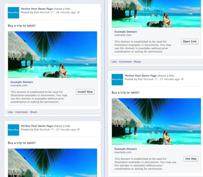 Nowe przyciski CTA Facebook