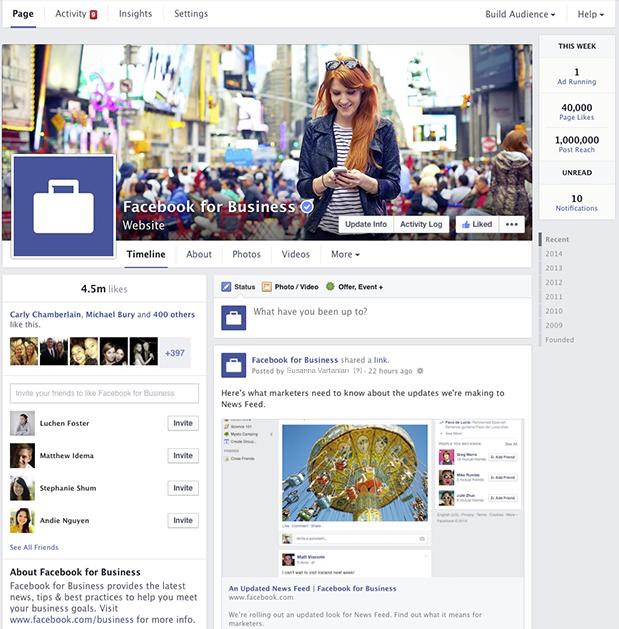 Nowy wygląd Facebook fanpage